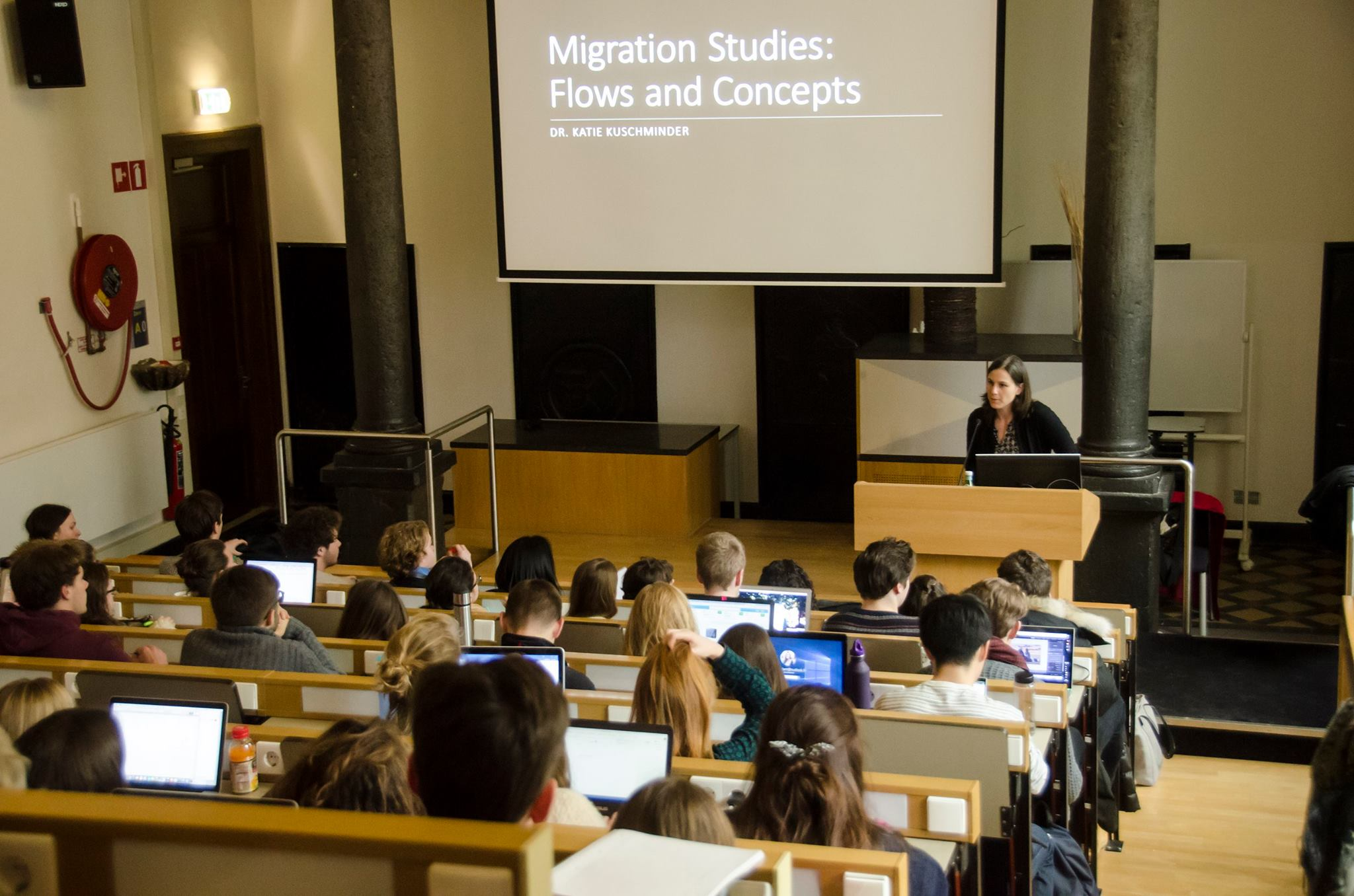 Launch of the First Migration Course at University College Maastricht