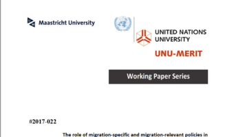 New Working Paper: The role of migration‐specific and migration‐relevant policies in migrant decision‐making in transit